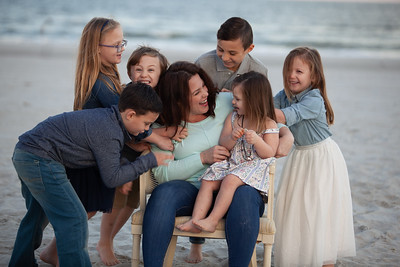 Wildman Family Portraits, Jacksonville Beach, Florida