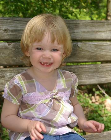 Emma At Two - April 2008