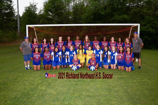 2021 Richland Northeast girls Varsity soccer