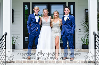 Logan, Addy, Quinn, and Addy go to PROM!
