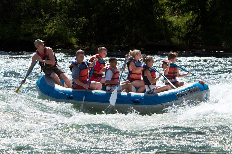 Rafting the Deschutes - 08/26/2011