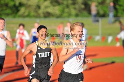 Boys' 1600 Meters - 2013 Oakland County Track Meet