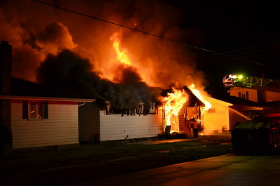 06-06-13 Coshocton FD House Fire