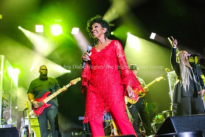 R & B singer, Gladys Knight live at the Mother's Day Concert at the Boardwalk Hall Convention Hall