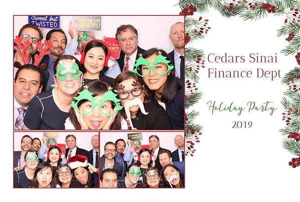 2019 Finance Dept. Cedars-Sinai