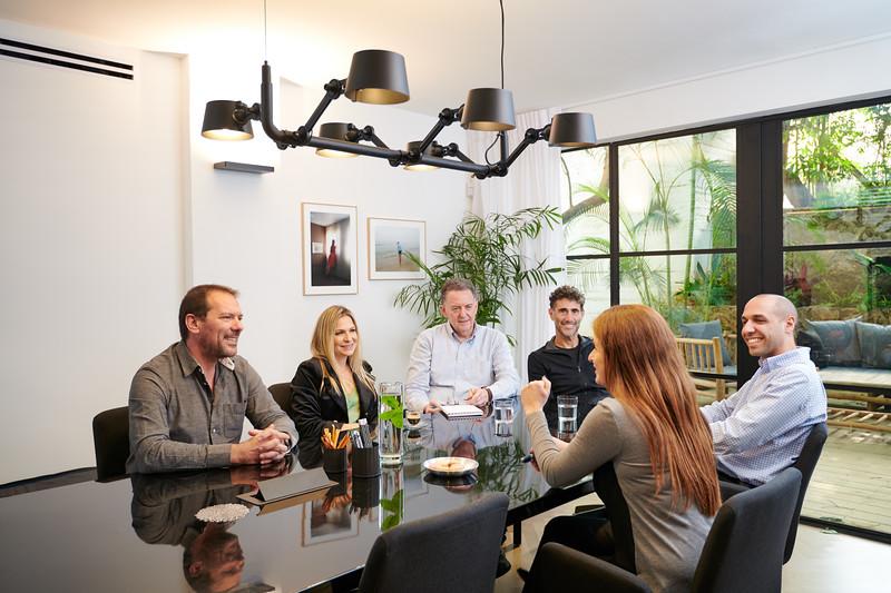 Qumra Capital Team Meeting