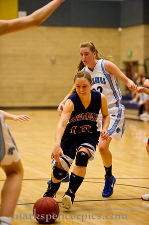 Basketball Girls JV SHS vs SalemH 2-10-2012