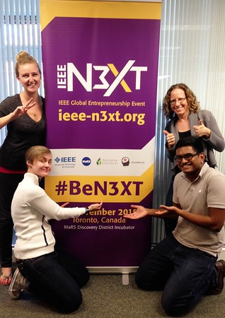 Prepping for 2015 IEEE N3XT - Toronto