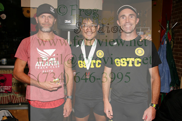 Crim Festival of Races 24 Aug 2018 USATF Masters Road Mile Award Ceremony