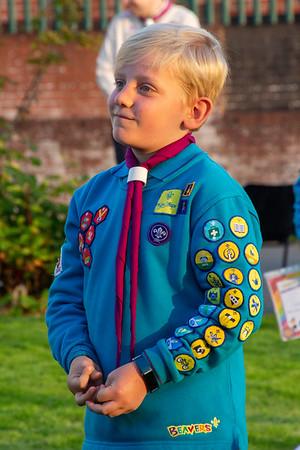 1st Bispham Beavers Chief Scout Bronze Awards 2020
