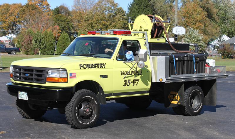 Retired.  Forestry 7.  1996 Ford F-350 / Custom.  200 / 200