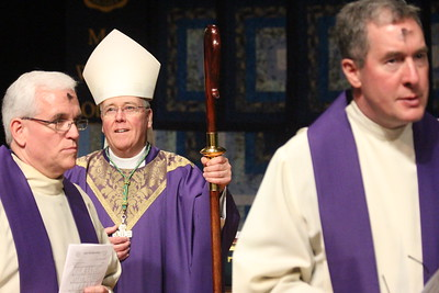 Ash Wednesday with Bishop Malone 3/1/17