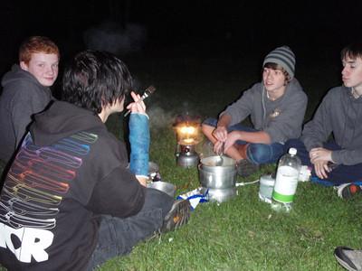 Outdoor Cooking Explorers September 2011