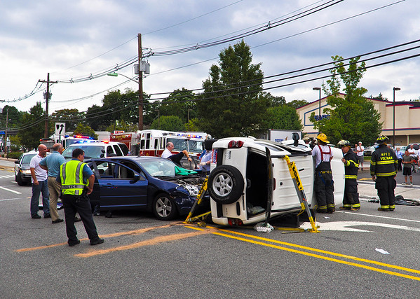 9-3-10 Midland Park, NJ Motor Vehicle Entrapment: Godwin Avenue