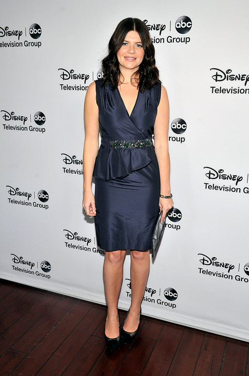 ". Casey Wilson arrives for the Disney ABC Television groups ""2013 Winter TCA Tour\"" event at The Langham Huntington Hotel and Spa on January 10, 2013 in Pasadena, California. (Photo by Toby Canham/Getty Images)"