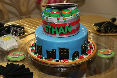 Ethan 1st B-Day Party 2015