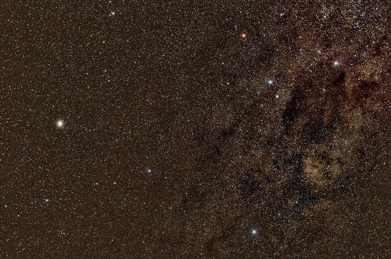 Crux and Centaurus - 27/4/2017 (Re-Processed stack)