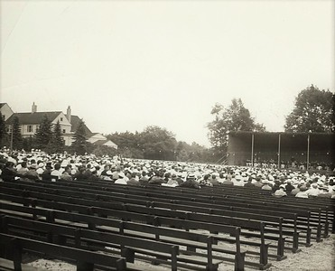 Days Gone By: Image of Tanglewood, 1934-1939 from The Eagle's Archives