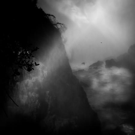 Victoria Falls B&W