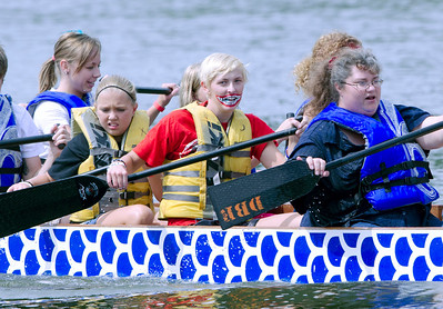 Dragon Boat Racing 2011 Fort Dodge Iowa