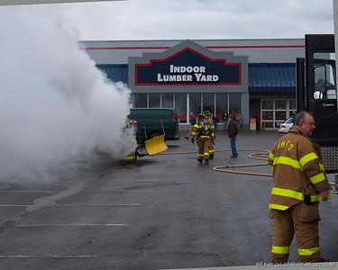 Vehicle Fire West Hazleton 2/6/08