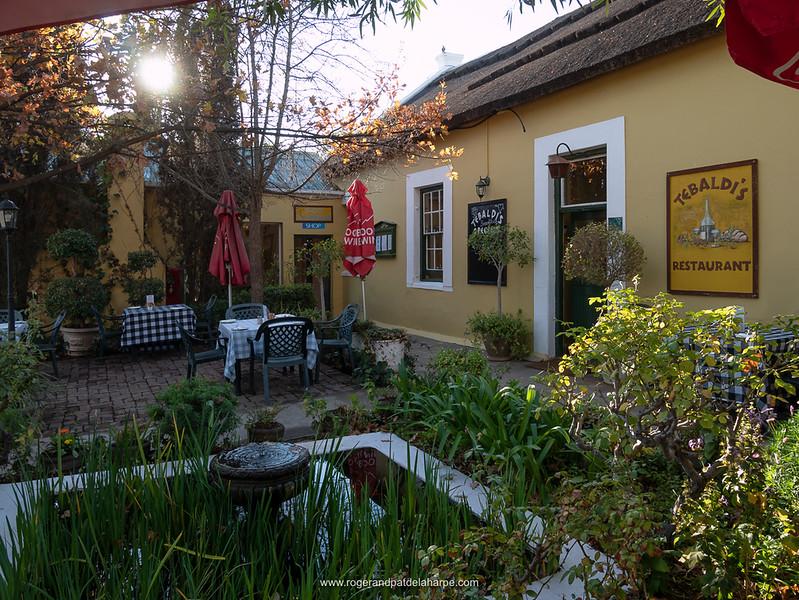Tebaldi's Restaurant.