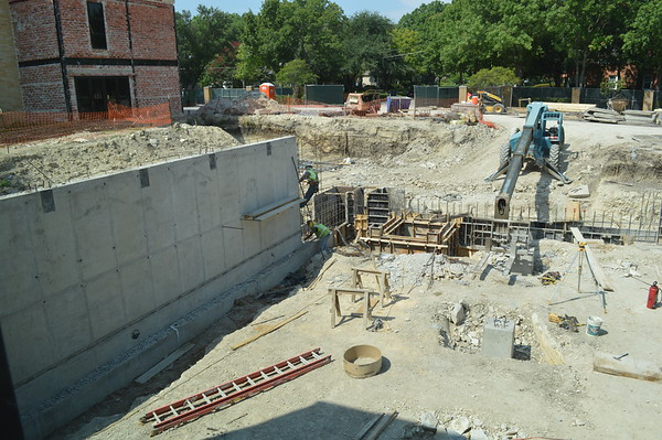 Campus Construction.September 2016