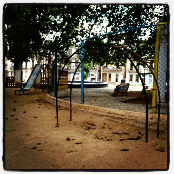 nostalgia? this playground is straight from my childhood!