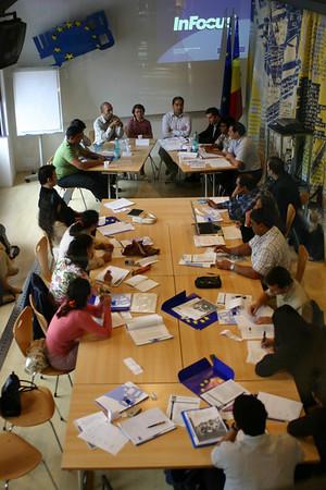 Roma Diplomacy Programme - Bucharest Workshop, 2005