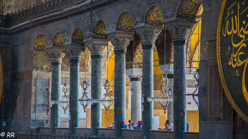 The Loge of the Empress in Hagia Sophia