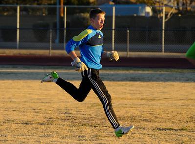 1-22-2013 - Boys JV Soccer - Cactus vs Northwest Christian