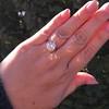 3.46ct Old European Cut Diamond GIA M, VS1 55