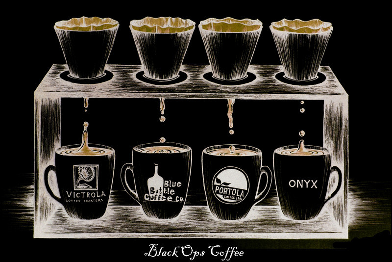 Pour-over Coffee: Black Ops Coffee