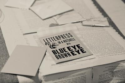 FW Anthro, Letterpress | EVENT