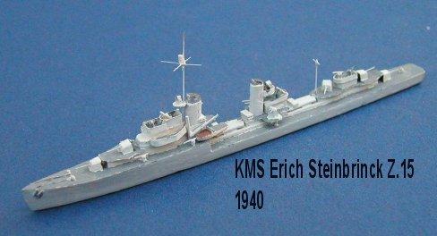 Germany WW2 Destroyers
