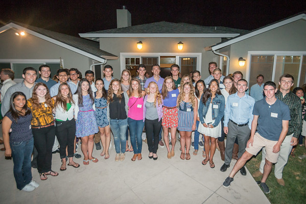 Dartmouth Class of '18 Sendoff 8/17/14
