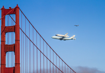#kw-108 Space Shuttle Endeavour - Last Flight 9/20/2012 - San Francisco