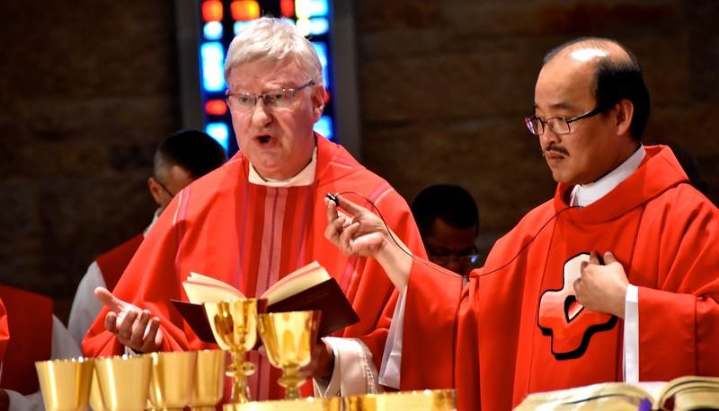 Fr. Jim, Fr. Quang