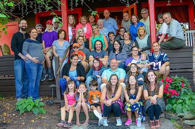 Beckett Family Reunion August 2016