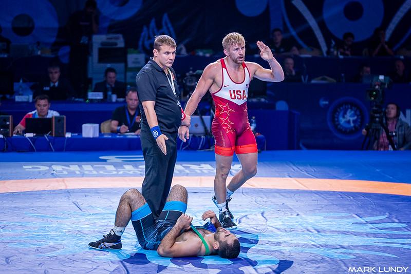 1st Place Match: Kyle Douglas Dake (United States) over Jabrayil Hasanov (Azerbaijan)  •  Dec 4-2 - 2019 World Championships