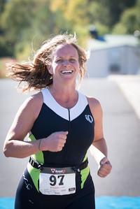 Palouse Sprint Triathlon 2016 - Finish Line