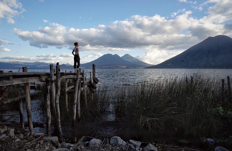 Sunset at Lake Atitlan, Guatemala