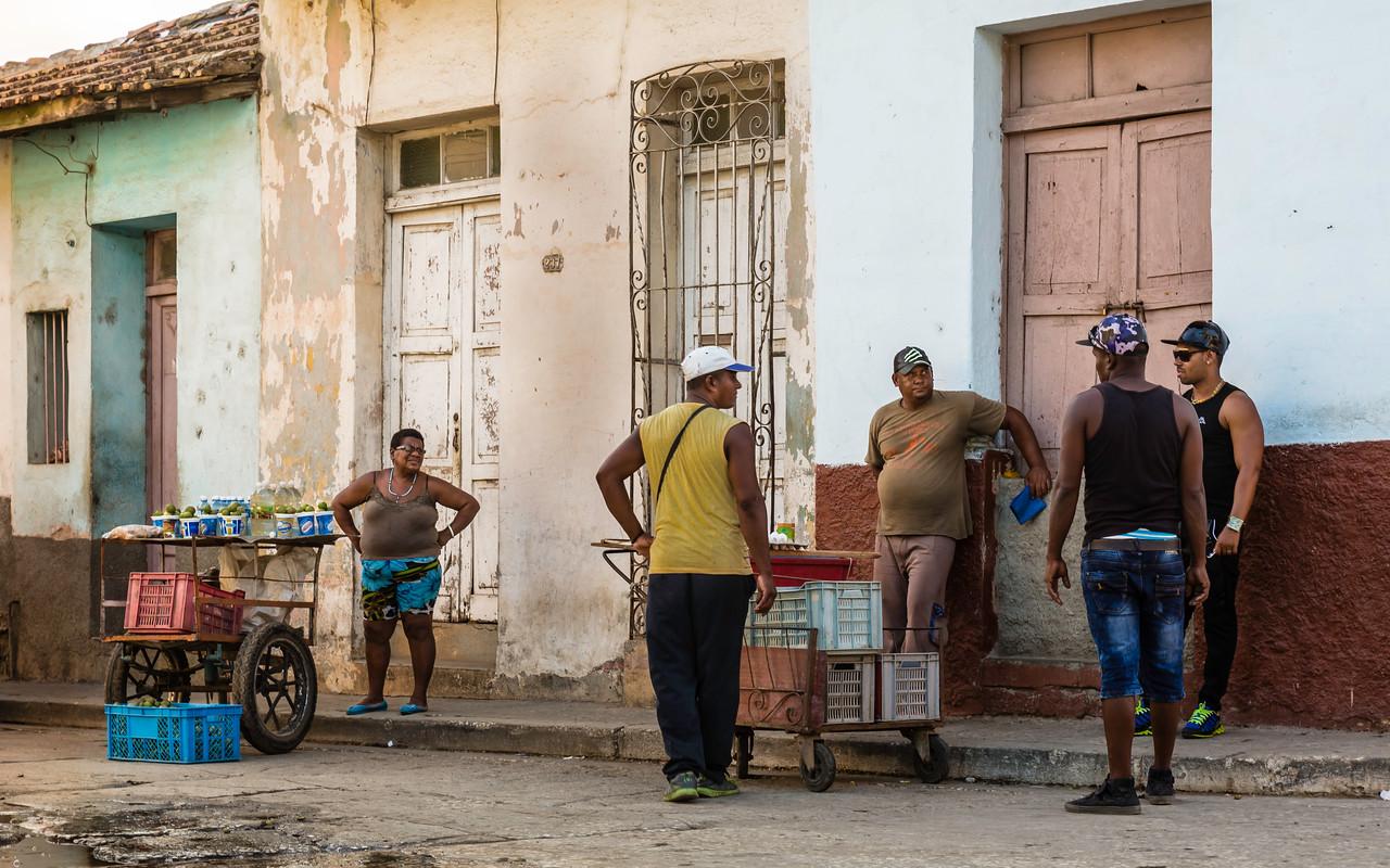 Trinidad Cuba Street Scene