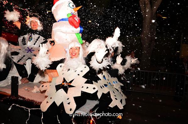 Sarasota's Christmas Parade 2012