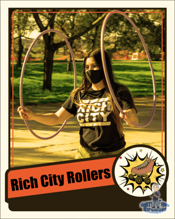 Rich City Rollers Retro Cards