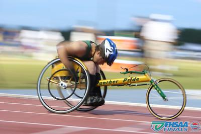 Class 3A - Running Event Finals - Boys 800m Wheelchair