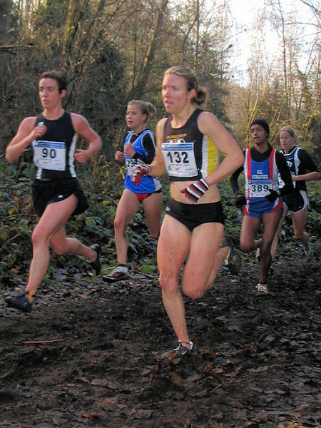 2005 Canadian XC Championships - This was the one really muddy bit