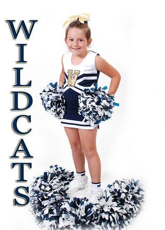Roberts Wildcats Cheerleaders 2010