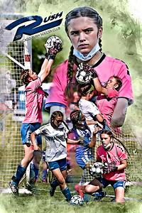 2021 Sydney Slavin Chicago Rush Soccer Print