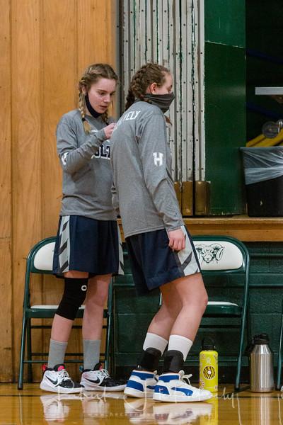 2021-03-02 Hillsdale Academy JV Girl's Basketball vs. North Adams